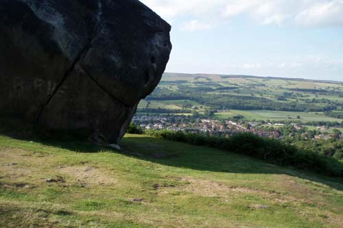 Ilkley Moor near Low Skibeden B&B