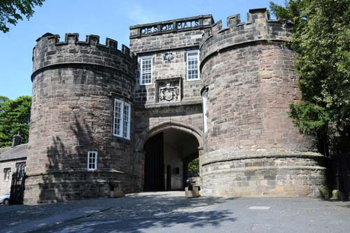 Skipton Castle near Low Skibeden B&B